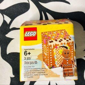 5 for $25| Lego Gingerbread Man Minifigure